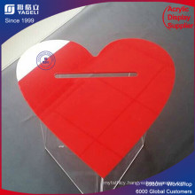 Yageli Red Heart-Shaped Ballot Boxes for Election