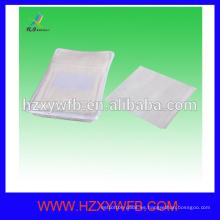 Tipo desechable de la malla del precio barato no tejido Spunlace toalla de cara para la línea aérea