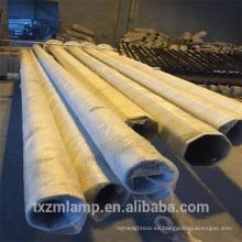 Poste de la luz de calle de aluminio del molde al aire libre galvanizado en caliente 8M