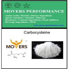 Carbocystéine de haute qualité d'approvisionnement d'usine