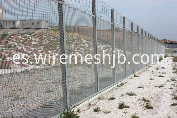 Airport Wire Mesh Fence