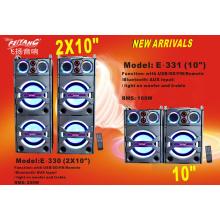 Двойная 10-дюймовая сильная профессиональная акустическая система для DJ E330