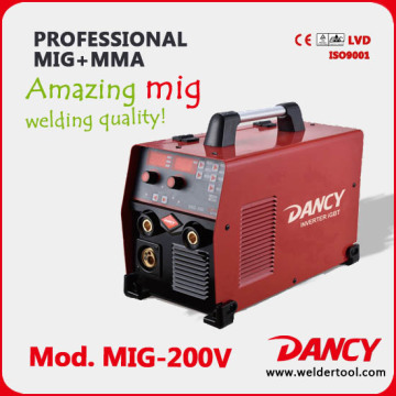 Mig mma welding machine 200A amazing welding quality