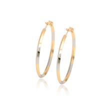 97342 xuping mode simple haute qualité multicolore charmes créoles boucles d'oreilles pour les femmes