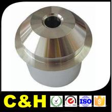 Peças de usinagem CNC galvanizado de aço carbono para a máquina