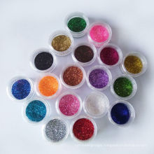 Holographic Hexagon bulk body Glitter Powder