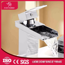 Bathroom basin mixer waterfall faucet