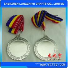 Medalla en blanco del recuerdo del metal del deporte con diverso color