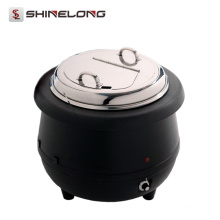 C105 Hot Sale Electric 10L Soup Kettle Com Tampa de aço inoxidável