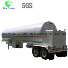 Liquefied Sulfur Dioxide 21m3 Volume Container Tank Semi Trailer