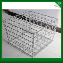 Black hexagonal galvanized gabion boxes