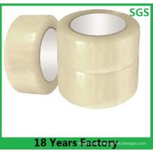 Rubans d'emballage transparents de BOPP pour le cachetage de carton et l'emballage usine bas prix