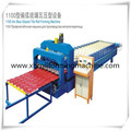 Smooth Glazed steel sheet  Roll Tile Forming Machine