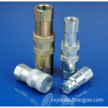 Flat Face Type Hydraulic Quick Coupler
