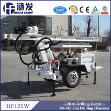 Profundidad 120m Calidad Asegurar Nuevo Multi-Función Ligero Hf120W Agua Pozo Perforadora Precio