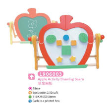 Wooden Multifunctional Drawing Board Magnetic Board Blackboard with Blocks for Kids Educational Toys Drawing Toys