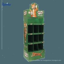 Kundenspezifischer Pappwerbungs-Handy-Zusatz-Ausstellungsstand