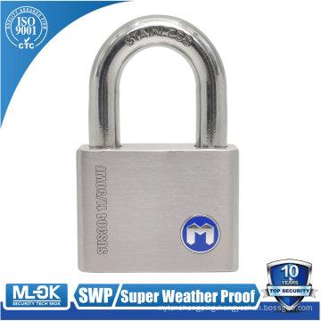 "MOK lock W11/50WF lock shackle diameter (5mm=3/16"",6mm=15/64"",7mm=9/32"", 10mm=25/64"" inch) padlock master key"
