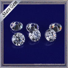 Ventas Directas de Fábrica Precio Bajo 3.5mm Brillante Blanco Sintético Cubic Zirconia