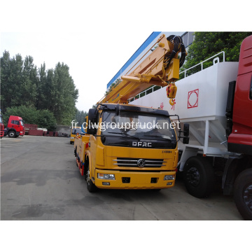 Camion à plate-forme de travail Dongfeng Aerial Manlift
