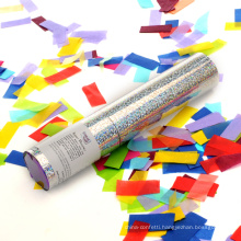 Colorful Rectangle Slip Confetti Cannon