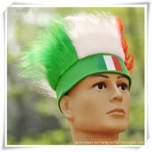 Peluca de la bandera italiana para la promoción (PF14001)