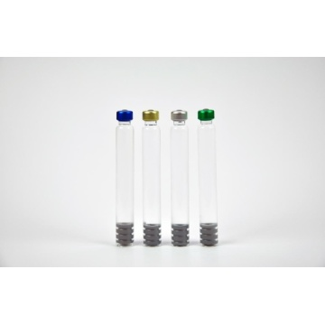 1ml Glass Cartridges With Colored Plastic Screw Cap