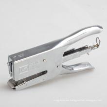 papelería de oficina nuevo diseñador grapadora de metal caliente