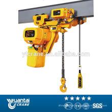 chaîne électrique 10 tonnes treuil prix avec la qualité