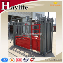 Australia popular galvanized cattle squeeze chute Australia popular galvanized cattle squeeze chute