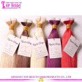 Melhor venda preço de fábrica atacado extensões de cabelo fita 100% cabelo humano