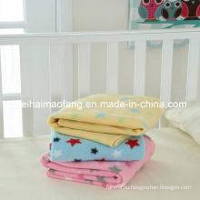 100% полиэстер флис одеяло /Travel пикник флисовой одеяло
