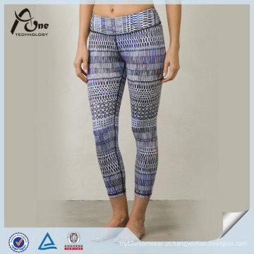 Calças de Yoga Personalizado Por Atacado Sublimação Colorida OEM