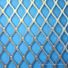 Malla de alambre ampliada diamante plana para la decoración