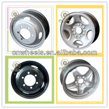 New utility 16x5.5 steel wheels for light truck