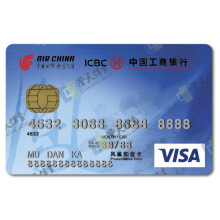 Visa Smart debit prepaid Hico magnetic stripe Credit Card
