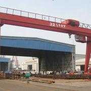 Gantry crane, high quality and standard fabrication processing