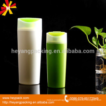 200ml 400ml HDPE flip cap shower gel bottle