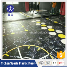 multifunctional movable Gym/fitness palaestra PVC Sports Flooring