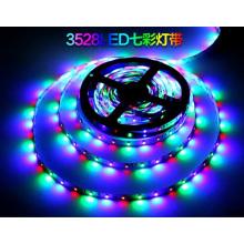 Luz de tira flexível à prova de água de 12V SMD 3528 RGB