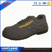 Zapatos de seguridad de trabajo con cubierta de acero en punta Ufa028