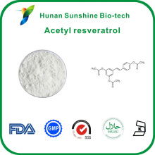 Wholesale CAS No:501-36-0 Water-soluble Acetyl resveratrol with good quality