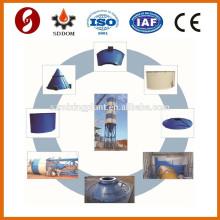 Cenizas volantes 100 toneladas de silo de almacenamiento de fabricación de China, silo de almacenamiento de cemento