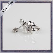 Серьги с серьгой из стерлингового серебра 925 пробы