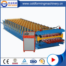 Double Decker Roofing Panel Cold Forming Machinery