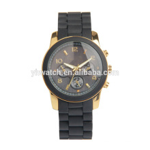 Hot Sale Geneva Silicone Watch Unisex Sports Wrist Watches