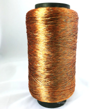 Whole sale Bright polyester blended knitting yarn