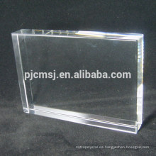 Bloque de cristal cristalino en blanco de alta calidad caliente de la buena calidad k9
