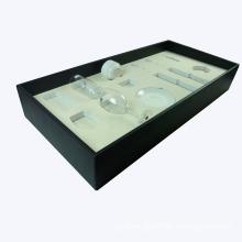 Matt Lacquer Cup Box, Glass Cup Storage, Wine Cup Holder Box (PB201)