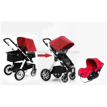Multi-função de luxo Baby Buggy Stroller com liga de alumínio